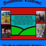 Predstavitev kulturnega društva Svoboda Kisovec
