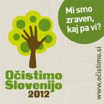 Očistimo Slovenijo 2012