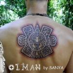 Antični tattoo v Mehiki