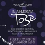 In memoriam Toše