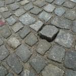 Ko zmanjka granitnih kock! Drugič!