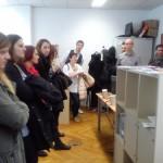 Mladi iskalci zaposlitve na področju medijev obiskali Kratermedia
