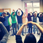 April fools' day intercultural exchange with local students