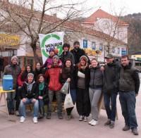 Mednarodni prostovoljci na Menjalnem krogu v Zagorju. FOTO: Sauli Ketola