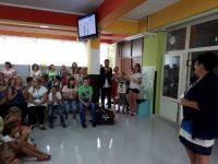 Dogodka ob otvoritvi se je poleg učencev in predstavnikov MC ZOS udeležil g. Matjaž Švagan.