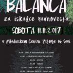 Festival BALANCA za iskalce ravnovesja