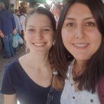 ESC prostovoljka Alina maha s Sicilije