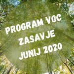 Program VGC Zasavje za mesec Junij