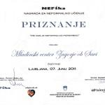 Nagrajenci Nefiks nagrade!