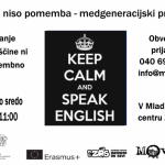 English talking corner