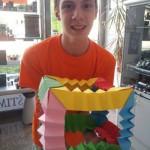 Otvoritev dobrodelne razstave Kristiana Božiča: Izzivi avtističnega otroka