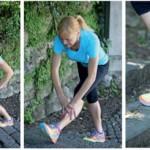 Zdrava vadba na ploščadi mestnega trga v Zagorju