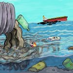 Ocean or Marine Pollution